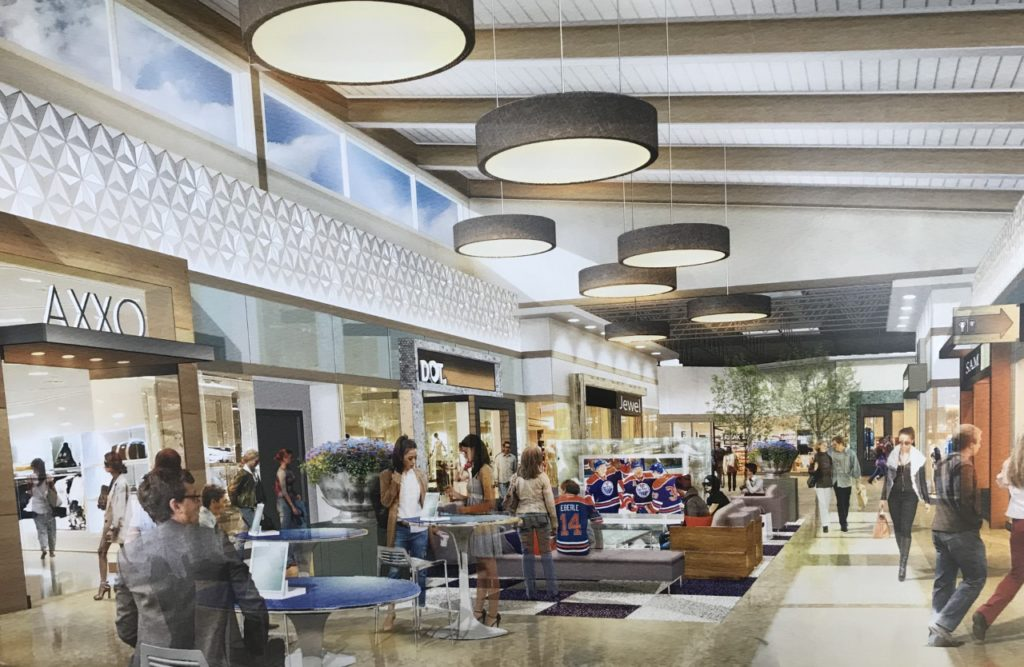 New Premium Outlet Collection Shopping Centre at the